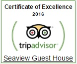 TripAdvisor Certtificate of Excellence 2016